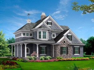 detached garage home plans