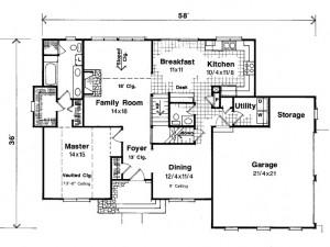 030H-0057 Floor Plan
