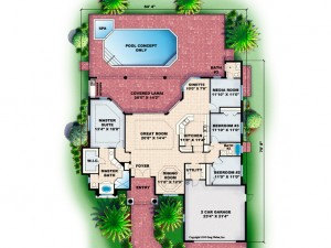 040H-0076 Floor Plan