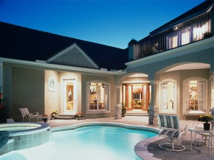 COURTYARD POOL HOME PLANS « Unique House Plans