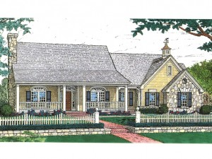 Country House Plan 002H-0009