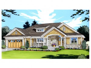 Empty-Nester House Plan 046H-0033