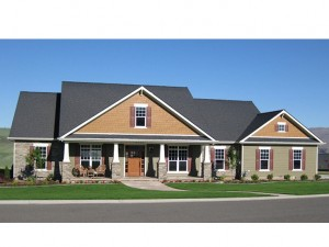 Craftsman House Plan 001H-0203