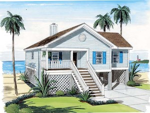 Vacation House Plan 047H-0077