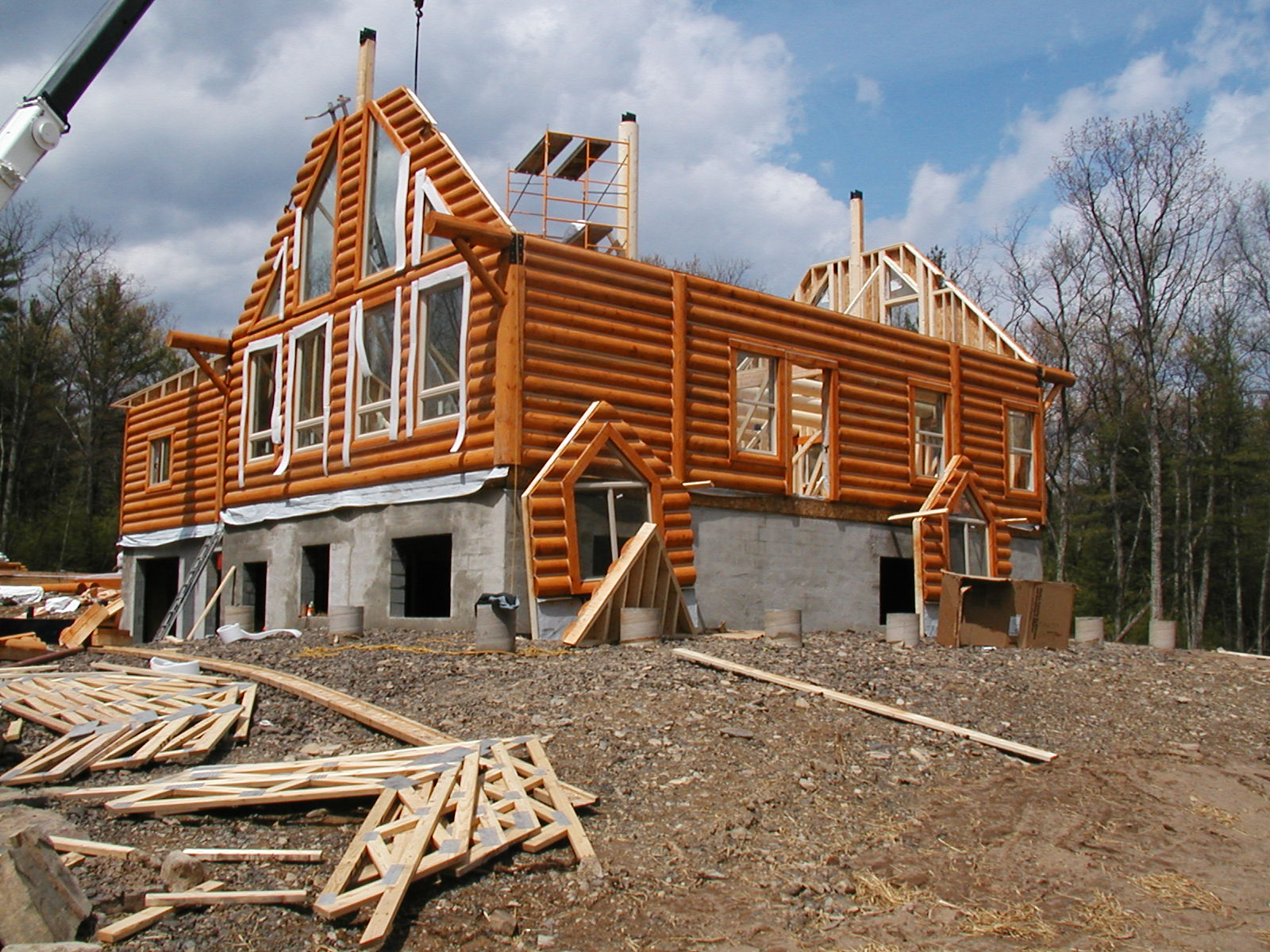The house plan shop blog building a house for Home built house