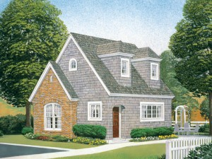 Vacation Cottage House Plan 054H-0058