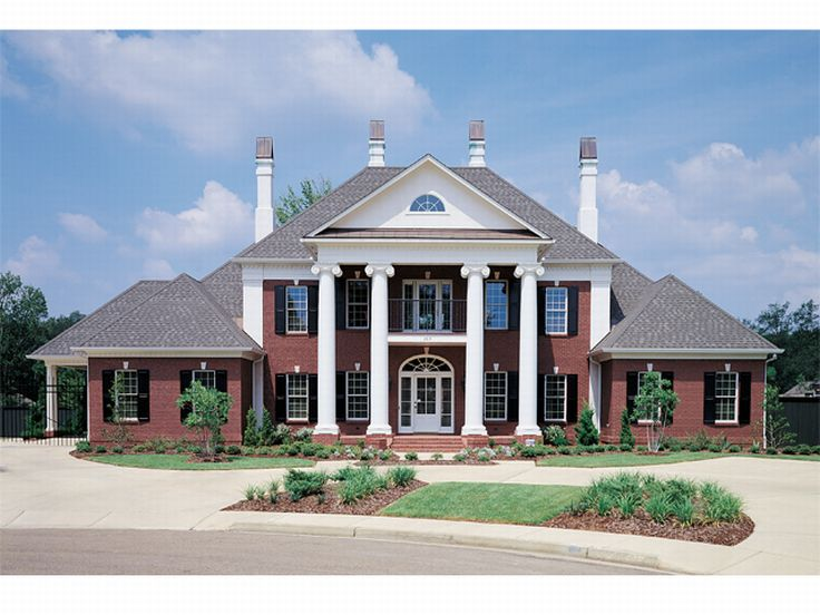 Colonial House Plan 021H-0197