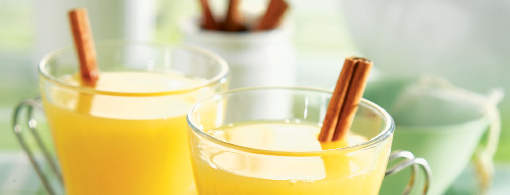 Hot Spiced Pineapple Tea