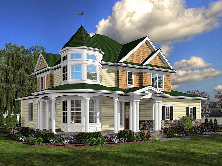 Victorian House Plan 035H-0078