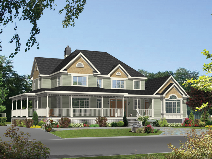 Multi-Generational House Plan 072H0177