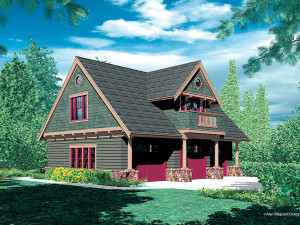 Carriage House Plan 034G-0010