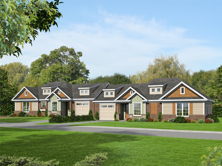 Multi-Family Plan 062M-0001