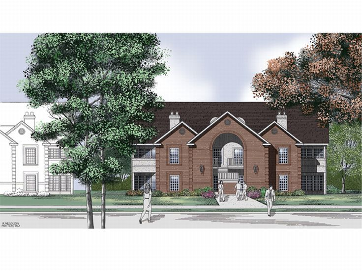Multi-Family Plan 021M-0014