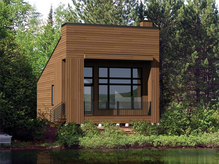 Tiny House Plan 072H-0186
