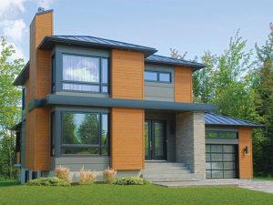 Modern House Plan 027H-0336