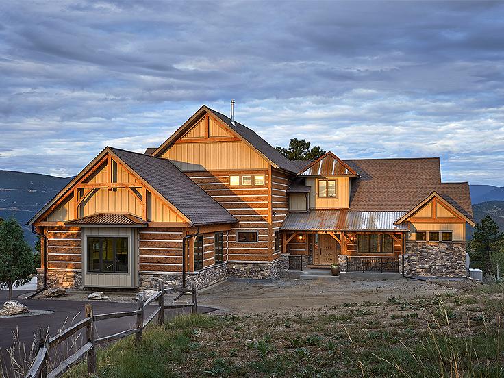 Mountain House Plan 066H-0024