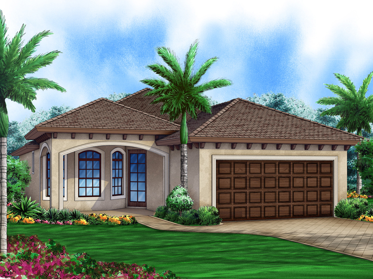 Sunbelt House Plan 070H-0009