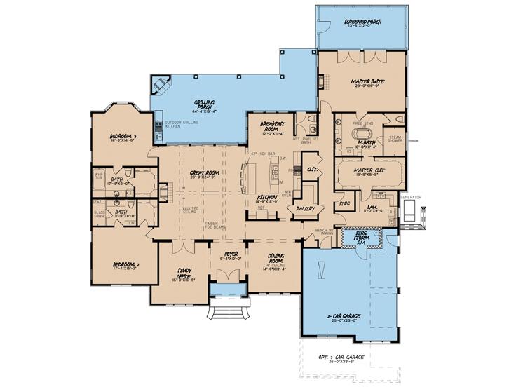 Floor Plan 074H-0042