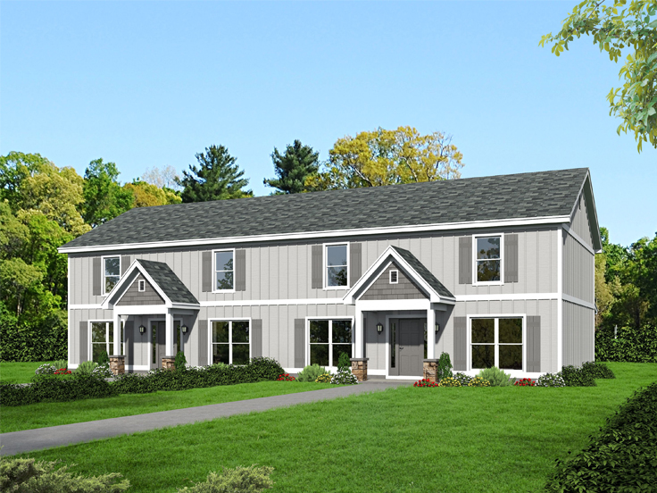 Multi-Family House Plan 062M-0002