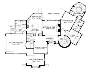 029H-0063 Floor Plan