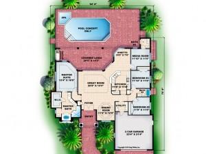 040H-0076 Floor Plan
