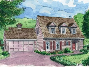 054H-0054 Cape Cod House Plan