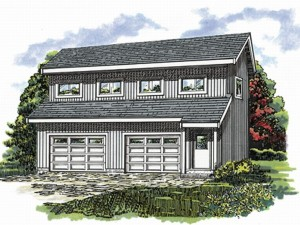 032G-0007 Carriage House Plan