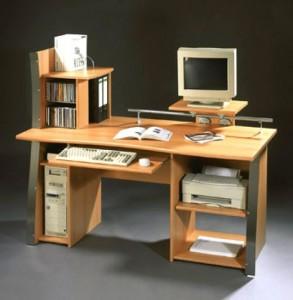 Organized Computer Desk