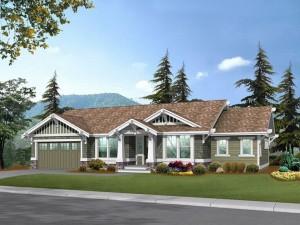 Empty-Nester House Plan 035H-0044