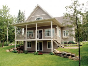 Vacation House Plan 027H-0073