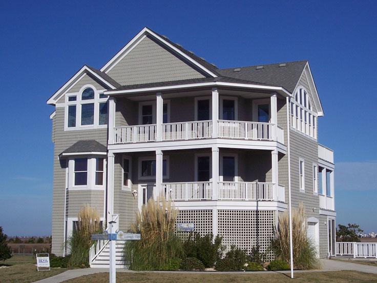 Coastal House Plan 041H-0062