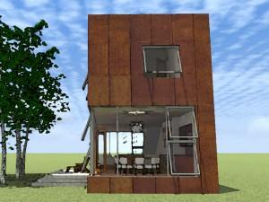 Modern Home Plan 052H-0001