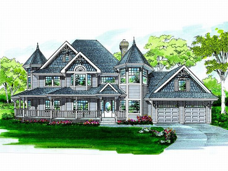 Victorian House Plan 032H-0049