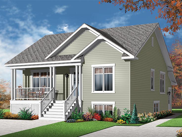 Duplex Plan 027M-0050