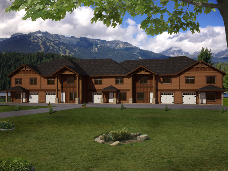 Multi-Family Plan 012M-0008