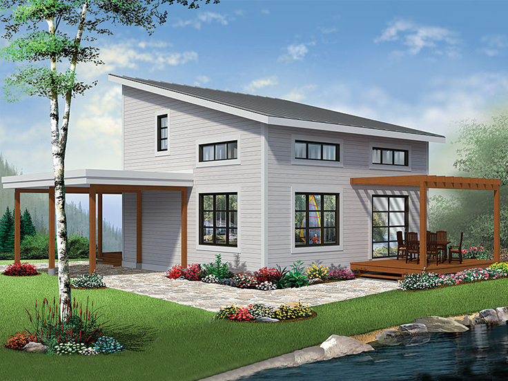 Small House Plan 027H-0457