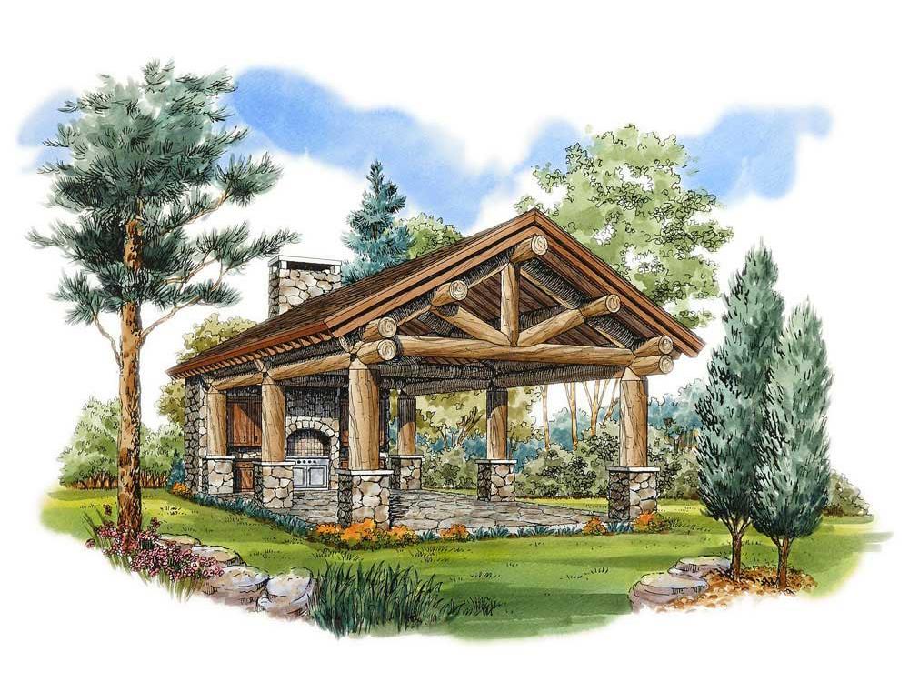 Pavilion Plan 066X-0006