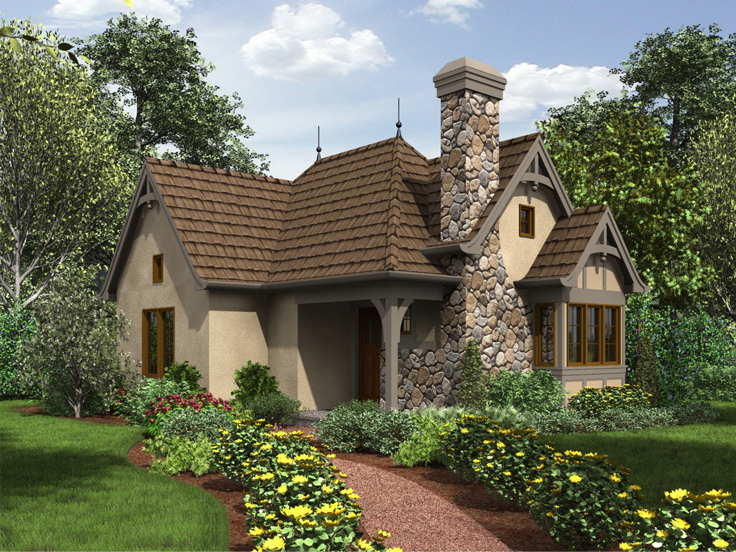 Tiny House Plan 034H-0267