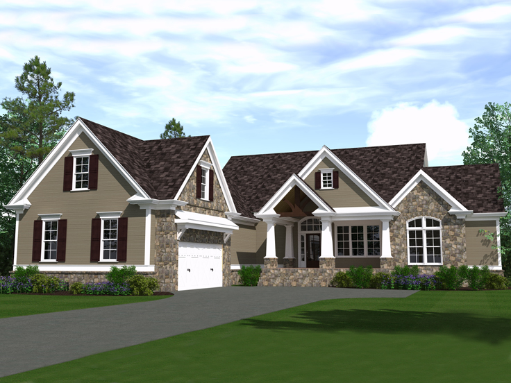 Craftsman House Plan 080H-0007