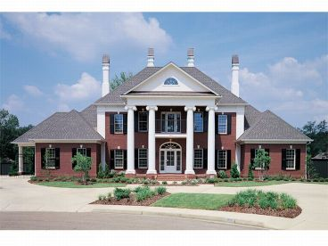 Plan W43010PF: Colonial, Traditional House Plans & Home Designs