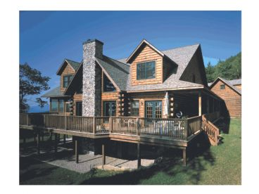 Information on Log Home and Log Cabin Floor plans from