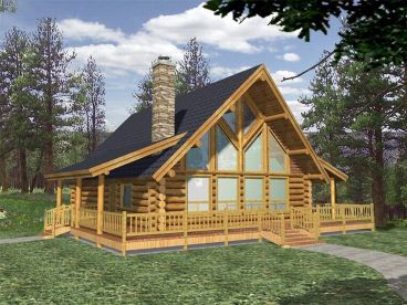 large log home plans