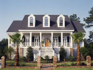 Colonial house plans southern house plans and cape cod Southern colonial style house plans