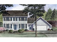 Cape Cod Home Plan