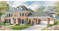 Colonial home plan