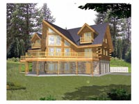 Log Cabin House Plan