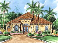 Mediterranean Home Plan