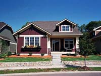 Narrow  House Plans on Narrow Lot House Plans   Narrow Lot Home Plans   The House Plan Shop