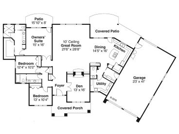 051h 0188 on open floor house plans