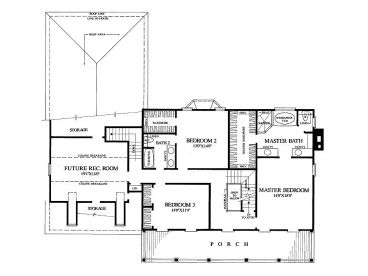 2nd Floor Plan, 063H-0127